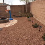 Installing a Fire Pit and Gas Line in Las Vegas