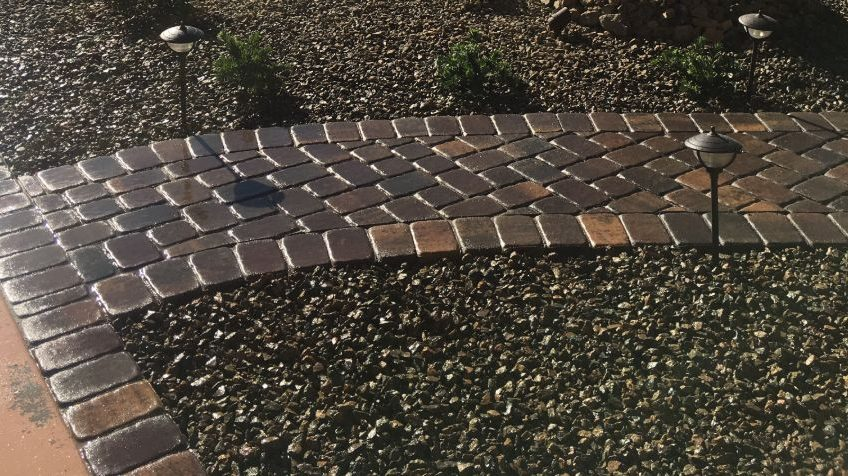 Green America Landscaping Paver Installation
