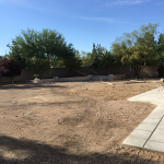 Landscape Design and Implementation for a Large Backyard -Before Photo