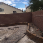 Pavers being installed in Las Vegas